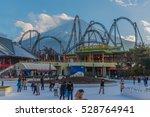 fuj q highland  yamanashi... | Shutterstock . vector #528764941