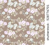 simple cute pattern in small... | Shutterstock .eps vector #528776701