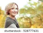 beautiful middle aged woman in... | Shutterstock . vector #528777631