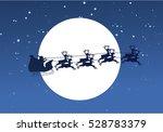 silhouette illustration of... | Shutterstock .eps vector #528783379