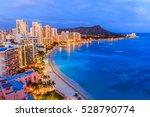 Honolulu  Hawaii. Skyline Of...