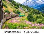 skagway  alaska. the scenic... | Shutterstock . vector #528790861