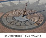Sundial On The Seafront Of The...