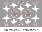 pattern with fairy tale white... | Shutterstock .eps vector #528795697