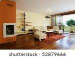 modern living room interior | Shutterstock . vector #52879666