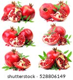 pomegranate fruit   Shutterstock . vector #528806149