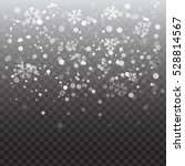 vector heavy snowfall ... | Shutterstock .eps vector #528814567