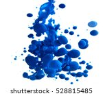 Blue Pigment In The Water