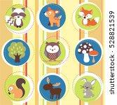 animal pattern | Shutterstock .eps vector #528821539