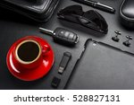 man accessories in business... | Shutterstock . vector #528827131