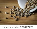 cannabis seeds | Shutterstock . vector #528827725