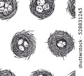vector seamless pattern with... | Shutterstock .eps vector #528831265