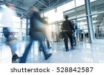 group of people in the entrance ... | Shutterstock . vector #528842587