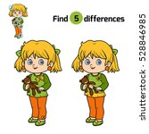 find differences  education... | Shutterstock .eps vector #528846985