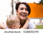 Small Cute Baby And Nice Mom...