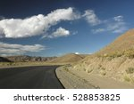 View Of Endless Highway In The...