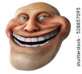 Laughing Internet Troll Head 3...
