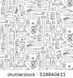 vector seamless pattern of...   Shutterstock .eps vector #528860611
