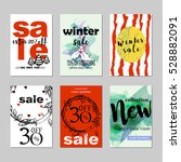 sale website banners design set....   Shutterstock .eps vector #528882091