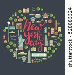 New York City Landmarks Set....
