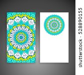 business card. vintage... | Shutterstock .eps vector #528890155