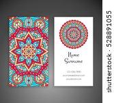 business card. vintage... | Shutterstock .eps vector #528891055