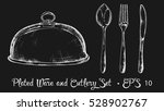 Plated Ware And Cutlery Set...
