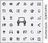 tablet icon. digital marketing