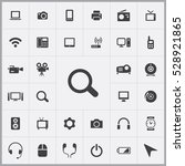 search icon. device icons... | Shutterstock . vector #528921865