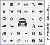 truck icon. delivery icons... | Shutterstock . vector #528925579