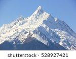 kawagarbo snow mountain on a... | Shutterstock . vector #528927421