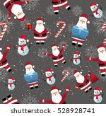 seamless background. happy new... | Shutterstock .eps vector #528928741