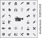 video camera icon. creative... | Shutterstock . vector #528931435