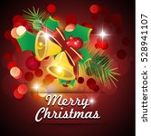 christmas background | Shutterstock .eps vector #528941107
