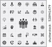 businessman team icon. business ... | Shutterstock . vector #528941479