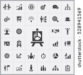 business strategy icons... | Shutterstock . vector #528941569