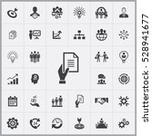 business planning icons... | Shutterstock . vector #528941677