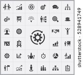business strategy icons... | Shutterstock . vector #528941749