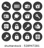 security icons  | Shutterstock .eps vector #528947281
