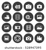 photography icons  | Shutterstock .eps vector #528947395