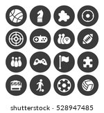 game icons set | Shutterstock .eps vector #528947485
