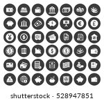 banking icons set | Shutterstock .eps vector #528947851