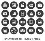 camera icons  | Shutterstock .eps vector #528947881