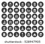 building icons set   Shutterstock .eps vector #528947905