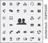 couple icon. communication... | Shutterstock . vector #528952285