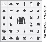 pullover icon. clothes icons... | Shutterstock . vector #528952351