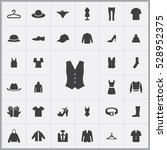 vest icon. clothes icons... | Shutterstock . vector #528952375