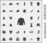 jacket icon. clothes icons... | Shutterstock . vector #528952435
