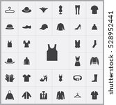 clothes icons universal set for ... | Shutterstock . vector #528952441