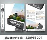 brochure design template vector.... | Shutterstock .eps vector #528955204